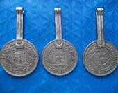 Morocco Maroc antique Pendants jewelry bijoux 20 francs 1366