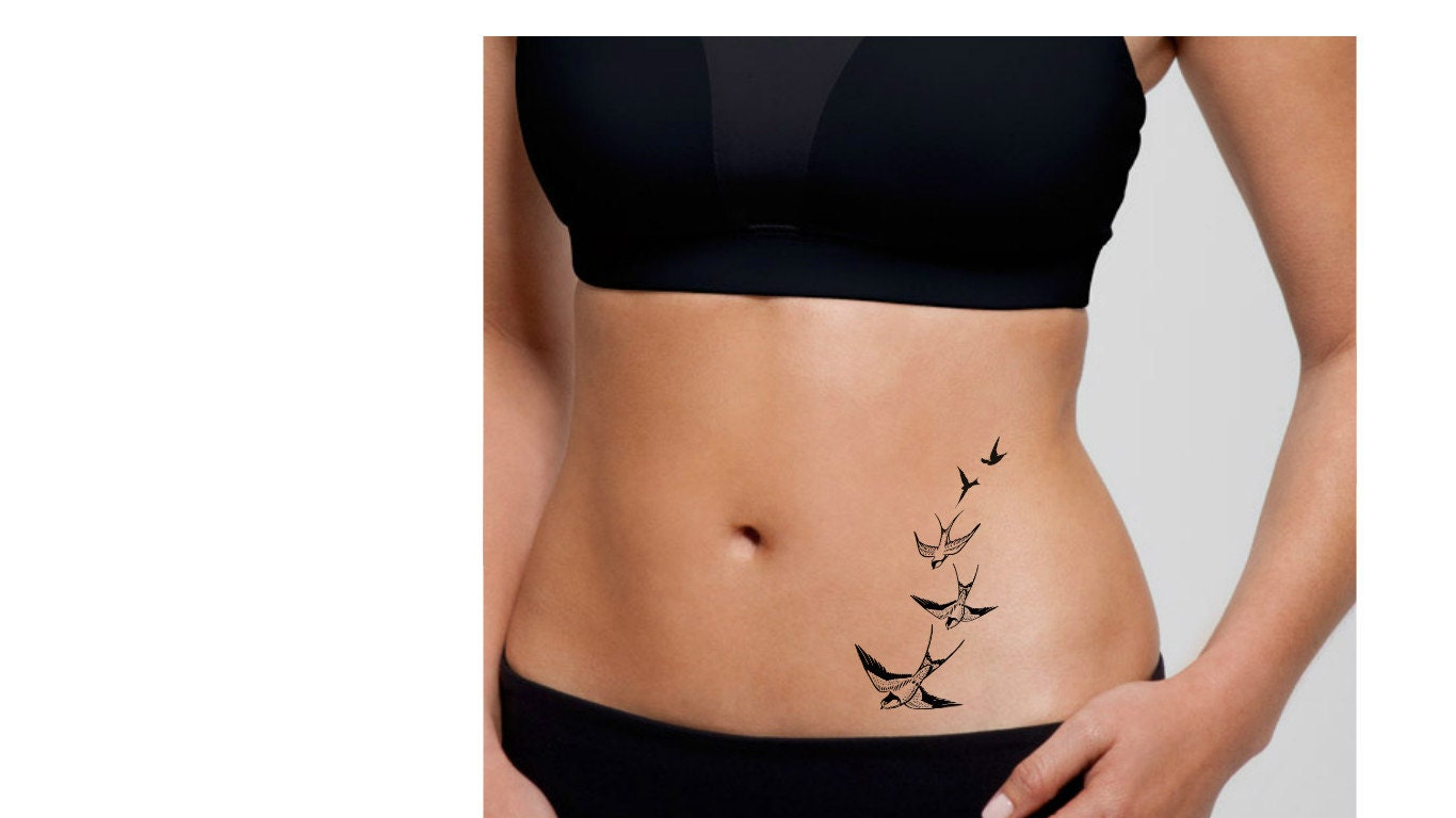 Swooping Swallow Tattoo 37