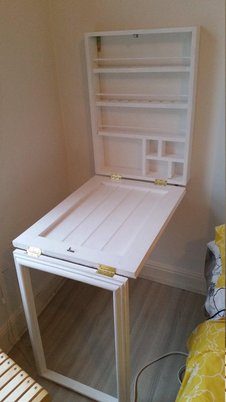 Make Up Wall Cabinet Desk