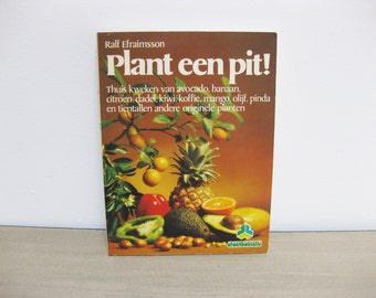 Vintage Book Plant a Seed