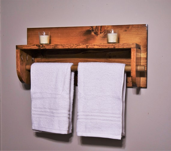 Bathroom Shelf With Towel Rack Towel Rack
