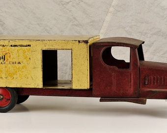 Steelcraft Fro-Joy Ice Cream Truck, 1930's Toy