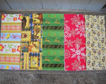Vintage Wrapping Paper National Wildlife Federation  Garden/Wildlife/Spring/Holiday