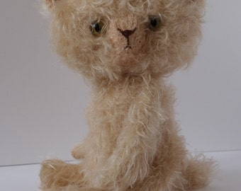 Fluffy - the new designed mohair cat