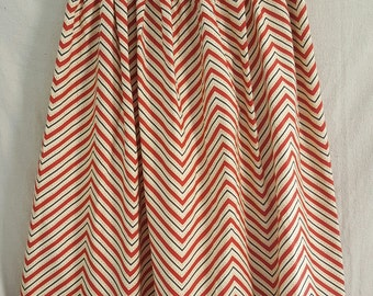 Modest Chevron Skirt