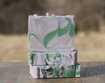 Lavender and Rosemary Goat Milk Soap