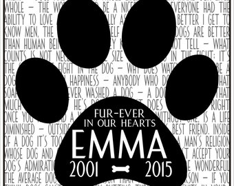 Personalized Pet Art - Digital Image - Pet Memorial