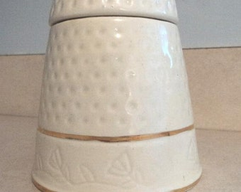 Thimble Jar/Canister