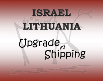 International Shipping with Tracking to ISRAEL & LITHUANIA, Postage upgrade,Tracked shipping, Shipping add on from AusPost
