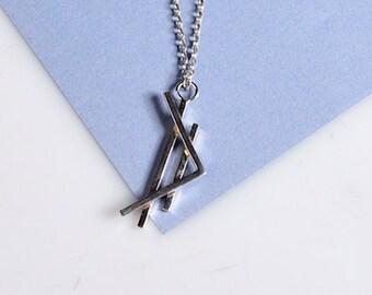 Structure necklace D