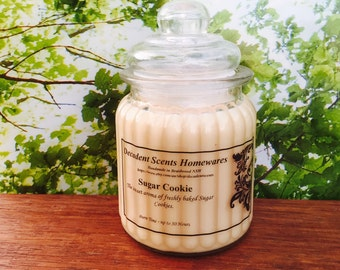 Sugar Cookie Scented Soy Candle