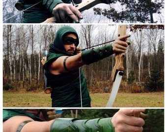 Custom cosplay leather, leather armor, leather masks, leather cuff, anime cosplay, marvel, dc, green arrow, deadpool, superhero, comics