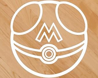Pokemon Masterball Sticker/Decal