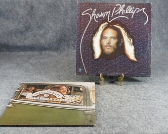 Shawn Phillips 2 Lp's Bright White And Collaboration C. 1970s