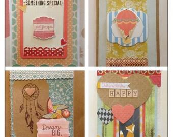 Happy dream set of cards