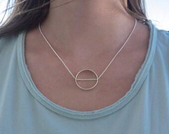 Pendant circle hollow