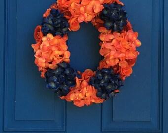 Medium size hydrangea wreath