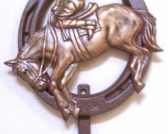 Genuine Lucky Lady Horseshoe/Bronc with Hook