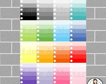 Ombre To Do | Full Box Planner Stickers