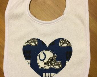 Indianapolis Colts Heart Bib