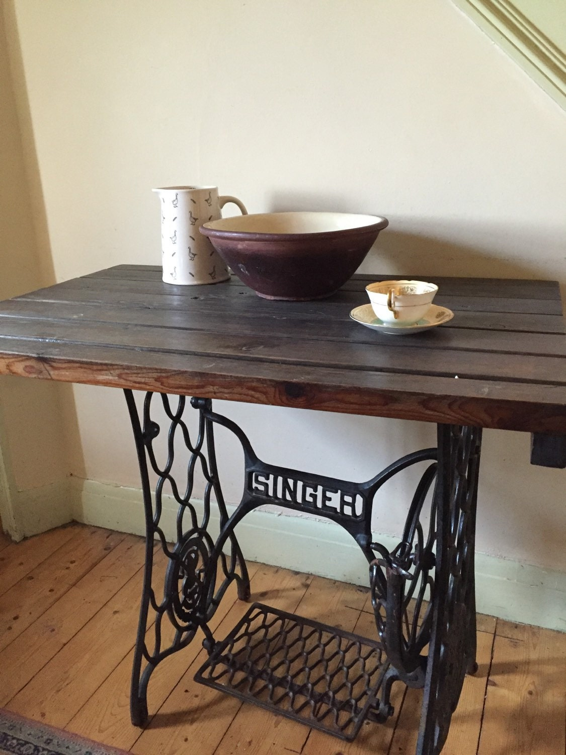 Singer sewing machine table - Singer sewing machine table ...
