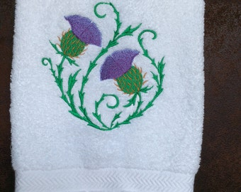 Thistle Guest Towel