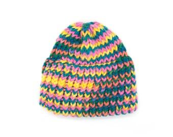 Vintage crochet baby hat. Crochet beanie. Baby girl hat. Kids hat. Winter hat. Baby beanie.