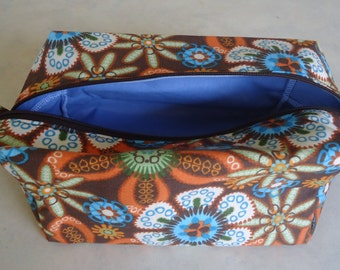 Boxy Toiletry bag or Make up bag
