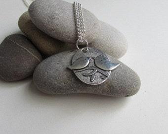 Love Birds Charm Necklace, Cute Jewelry, Bird Jewelry, Cute Necklace, Gift For Her, Love Necklace, Girlfriend Gift