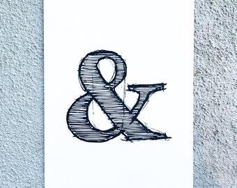Ampersand | Art Print