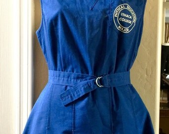 Vintage Physcial Education Major Ladies Uniform Dress