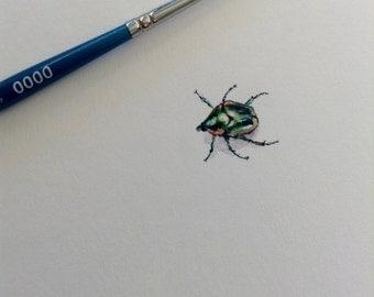 Mini Junebug Painting