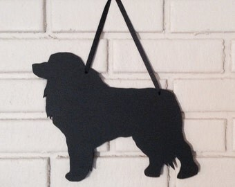 Great Pyrenees Chalkboard Handmade Blackboard  Wall Hanging - Dog Shadow Silhouette - Great Gift