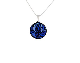 Blossom Blue Pendant