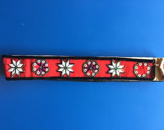 Native American Hand Beaded Belt/Sash