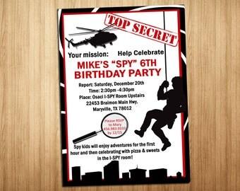 Secret Agent Invite!