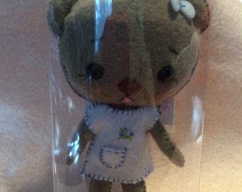 Lucy Girl Bear Doll