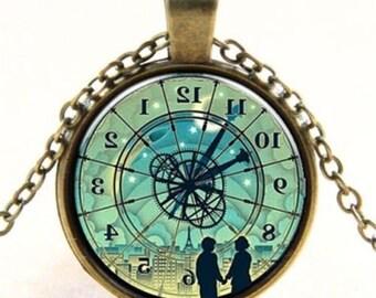 Nostalgic necklace romantic of couple time