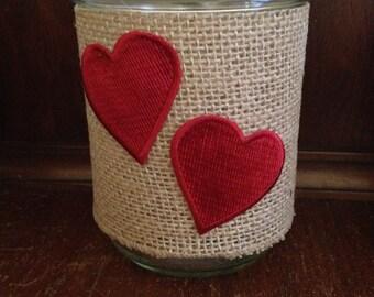 Valentine's Day Mason Jar