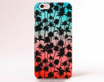 iPhone 6s Case Palm iPhone SE Case Palm Tree iPhone 5s Case Note 5 Case Palm iPhone Case Coral Samsung S7 case Galaxy s6 case LG G4 case