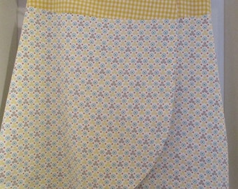 Wrap skirt yellow Gr.S