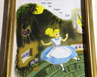 Vintage Alice in Wonderland print