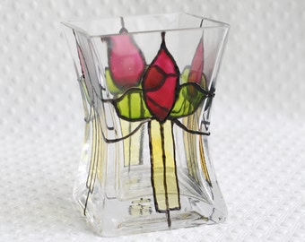 Flower candle holder, tealight holder, deco style