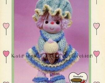 """Lollipop Lane """"Sherbert Ice,"""" Instant Download, Vintage Crochet PDF Pattern"""