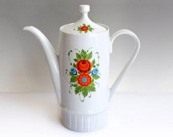 Vintage coffee pot Kahla DDR Germany Mid Century