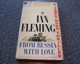 From Russia With Love by Ian Fleming Pb 1957 Vintage