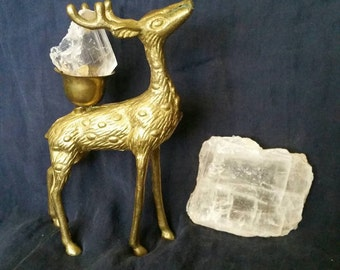White Selenite Cleansing Crystal // Chakra Balance Crystal // Meditation Stone // Reiki Healing // Crystal Clearing // Raw Selenite Gemstone