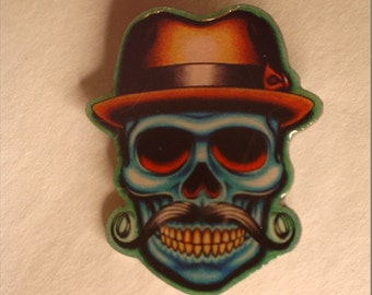 Chicano Art Pin