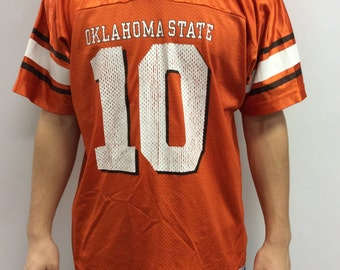 Vintage Oklahoma State #10 Team Jersey Size L