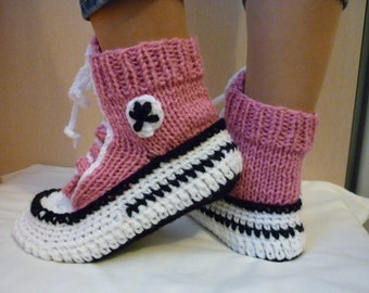 Knitting Pattern For Converse Socks : Unique funky converse related items Etsy